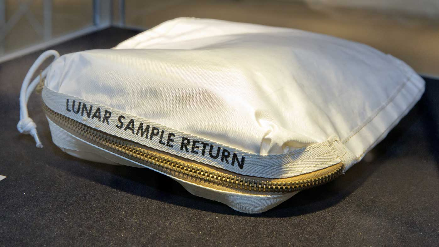 Moon dust bag sold for $1.8m at NY auction
