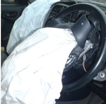 Car crash prompts recall reminder over potentially deadly airbags