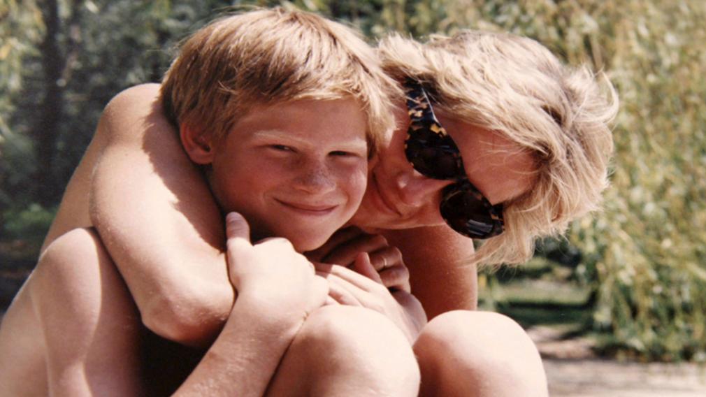 Princess Diana and Prince Harry on holiday. (Kensington Palace)