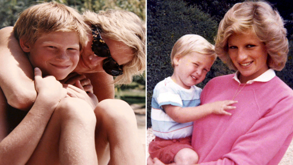 William and Harry regret 'rush' to finish phone call with Diana on day she died