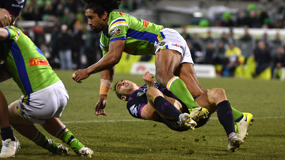 Canberra's Sia Soliola banned for five weeks