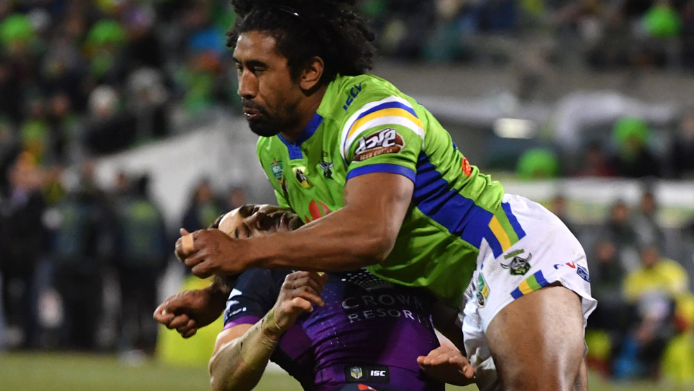 Sia Soliola has been roundly criticised after his tackle on Billy Slater. (AAP)