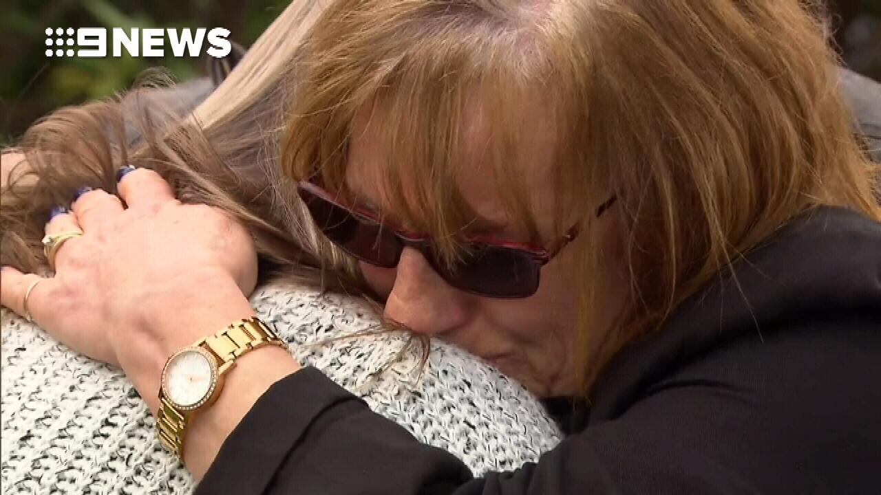 """She gave me a kiss and a hug,"" Mrs Brown said of her last interaction with daughter Jodie. (9NEWS)"
