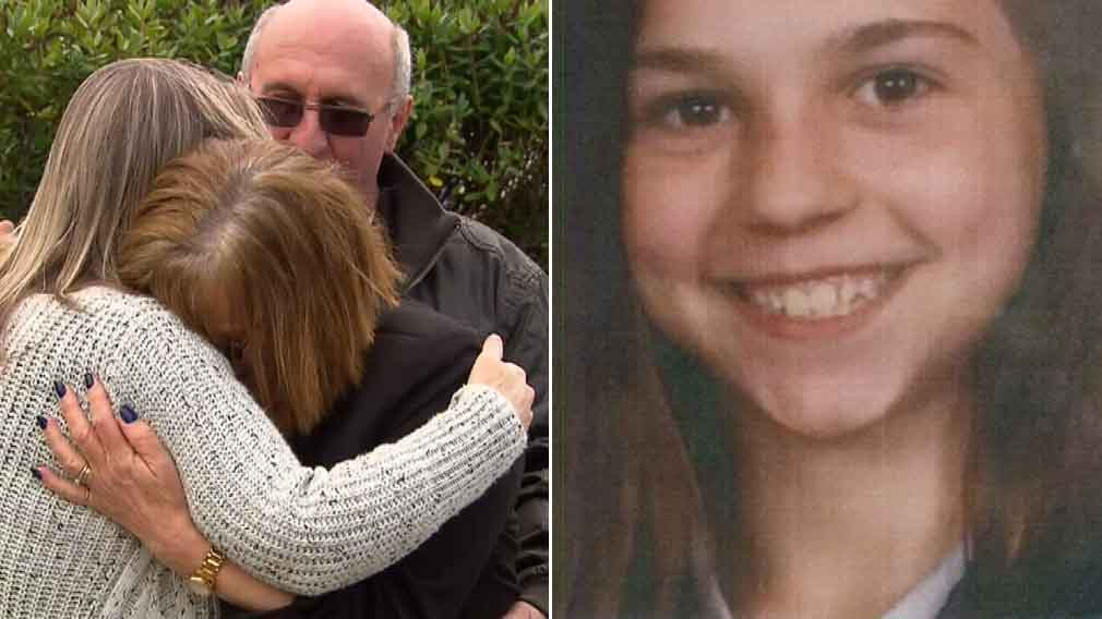 Heartbroken family's tearful plea to find missing schoolgirl