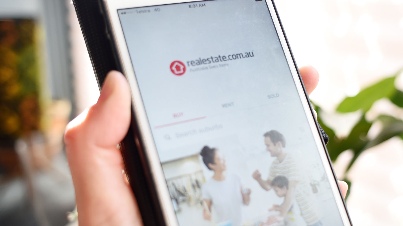 Shares in Realestate.com.au hit a high on Friday (AAP Image/Tracey Nearmy).
