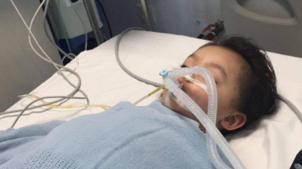 Three-year-old Kara Sweeney remains unconscious. (GoFundMe)