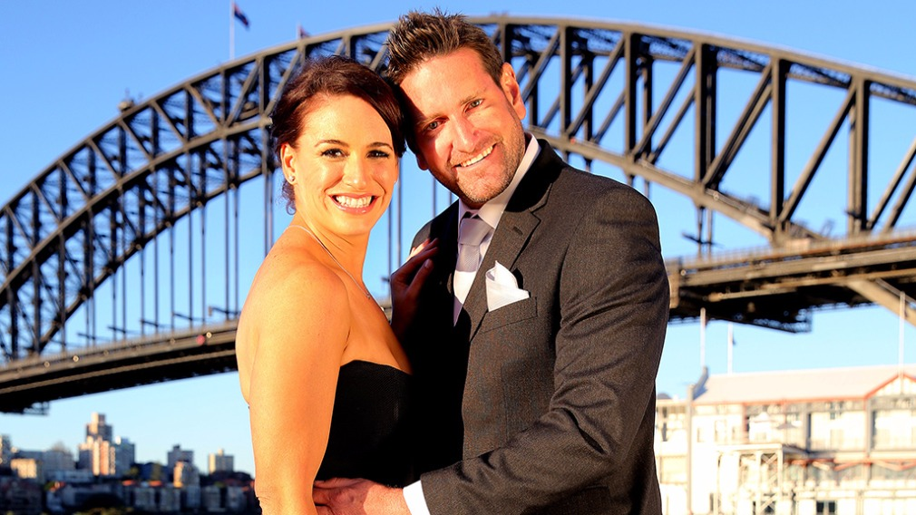 "Mr Rofe appeared on ""Married At First Sight"" with fellow contestant, Clare Tamas. (9NEWS)"