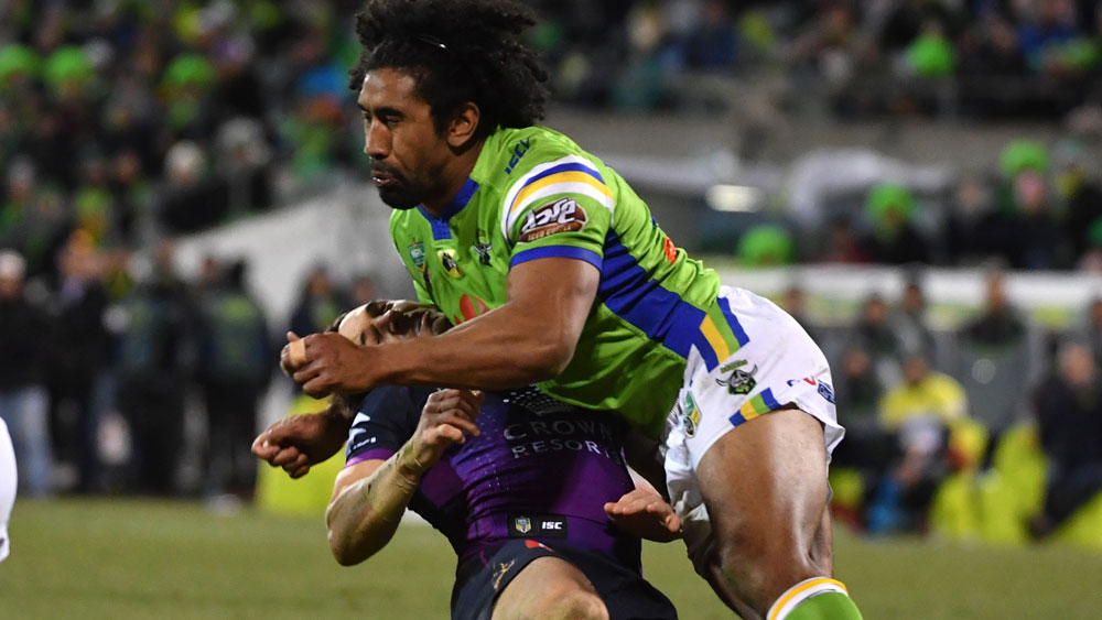 Sia Soliola will face the NRL judiciary on Tuesday night. (AAP)