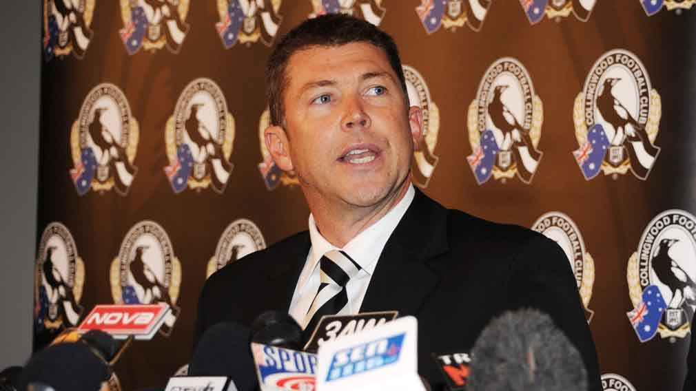 Gary Pert has quit as Collingwood CEO. (AAP)