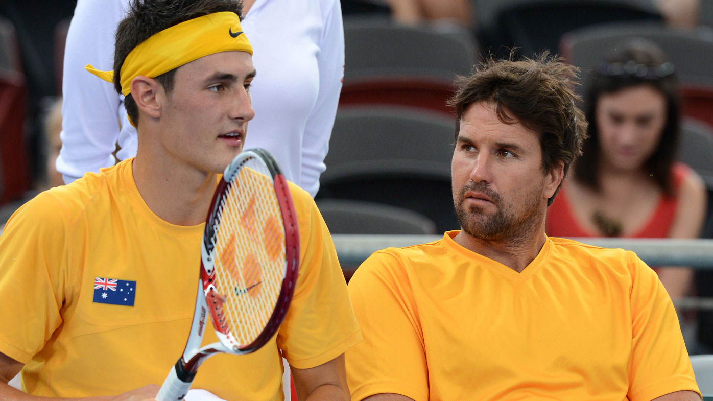 Rafter's 'disgraceful' regret after Tomic's scathing interview