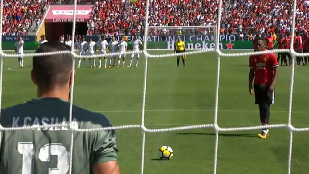 Manchester United and Real Madrid go through embarrassing penalty shootout