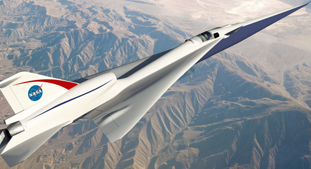 NASA aims to cut flight times with supersonic technology