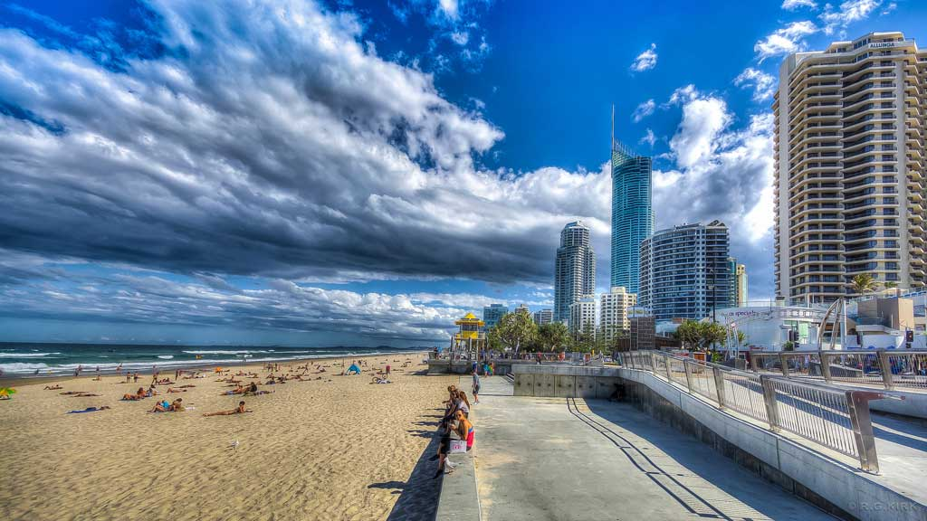Surfers Paradise in the Gold Coast