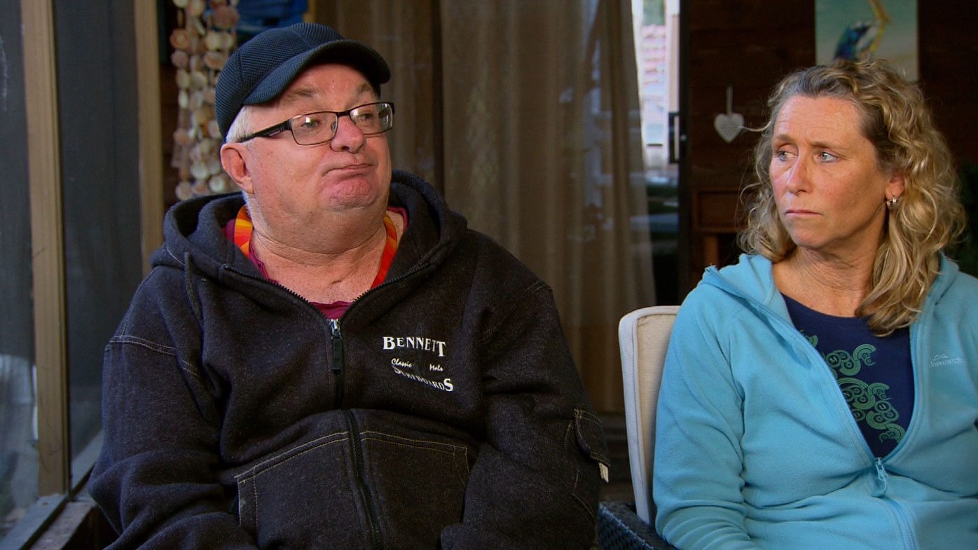 Paul and Martha Butler claim they are facing the loss of income support.