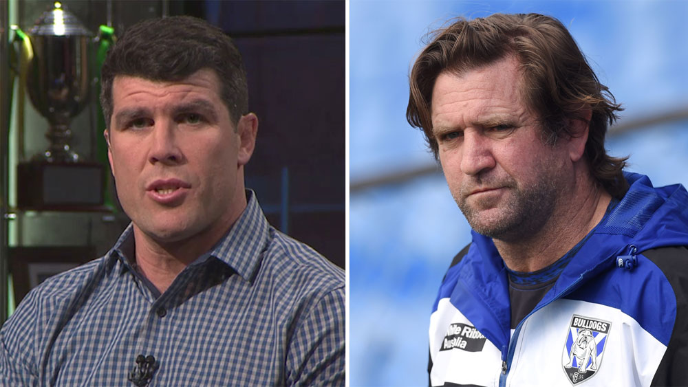 Michael Ennis and Des Hasler.