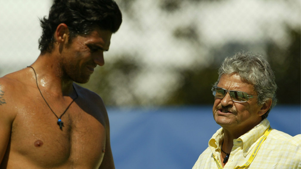 Mark Philippoussis' dad arrested on child molestation charges