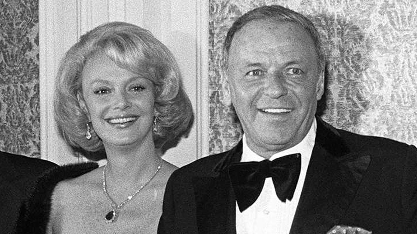 Barbara and Frank Sinatra married in 1976 - the same year this photo was taken  (AP Photo/File).