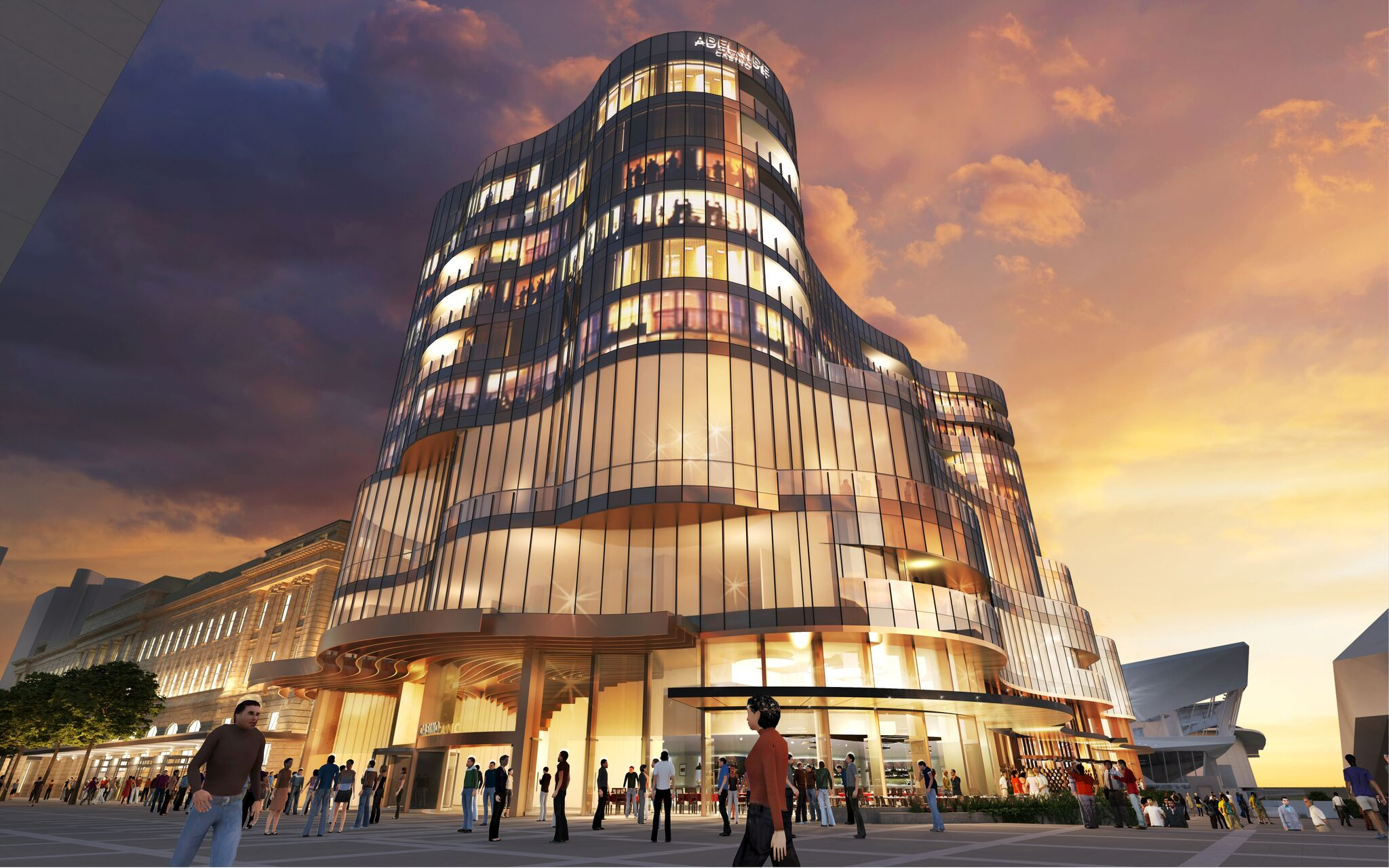 New Adelaide Casino