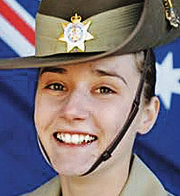 Young soldier found dead in buck's night hotel identified