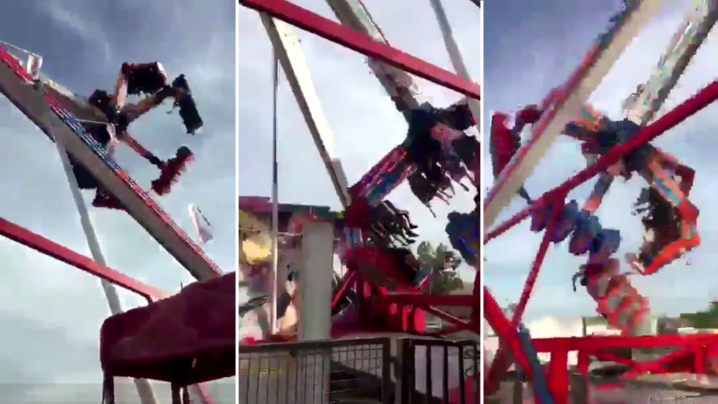 One dead, seven injured in horror amusement ride accident