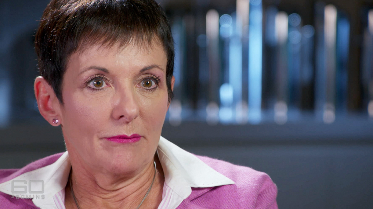 60 Minutes interviewed Small Business and Family Enterprise Ombudsman Kate Carnell. (Network)