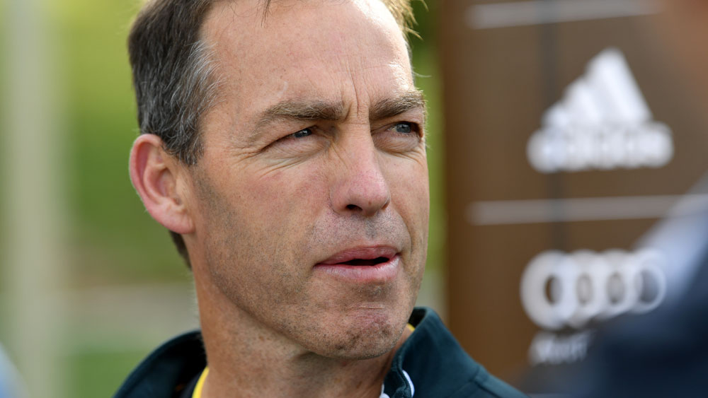 Hawthorn coach Alastair Clarkson said his side have nothing to fear against the Swans. (AAP)