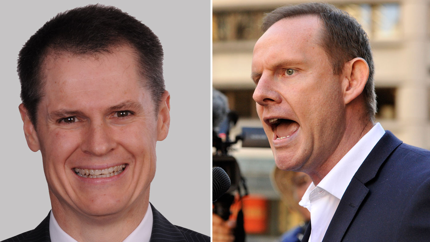 Former Dubbo mayor Mathew Dickerson and former Leichhardt mayor Darcy Byrne have slammed the NSW Premier over her back-step on council amalgamations (Supplied/AAP Image/Joel Carrett).