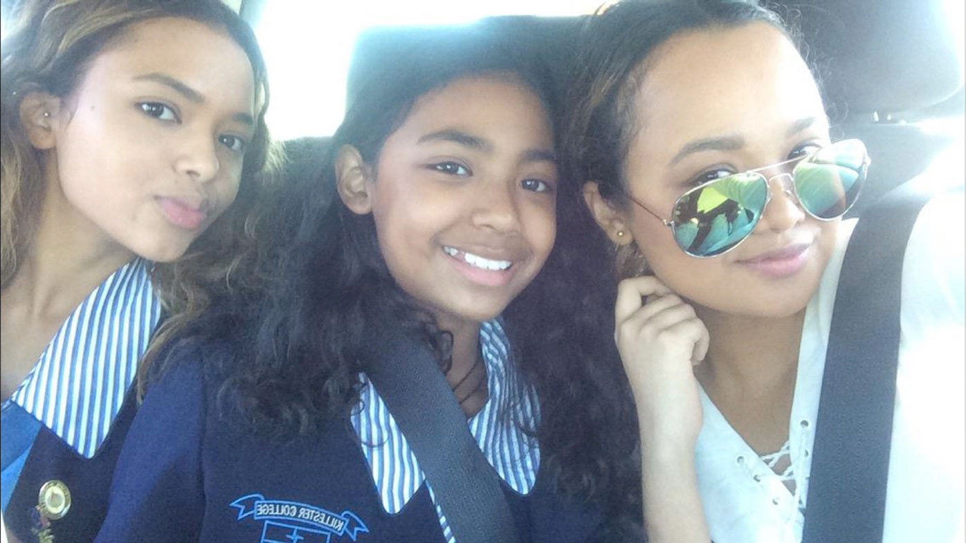 The Sookharee daughters Lateasha, Anastasia and Lea are well-liked at their school.