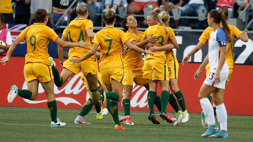Matildas beat USA to be top of soccer world