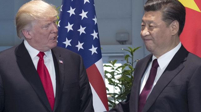 Trump and Xi meet at the G20. (AAP)