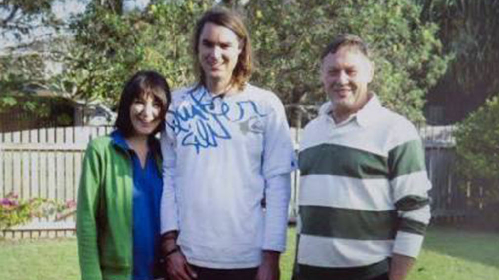 Police believe Waugh was killed by two men over an alleged dispute over drug money. (Supplied)
