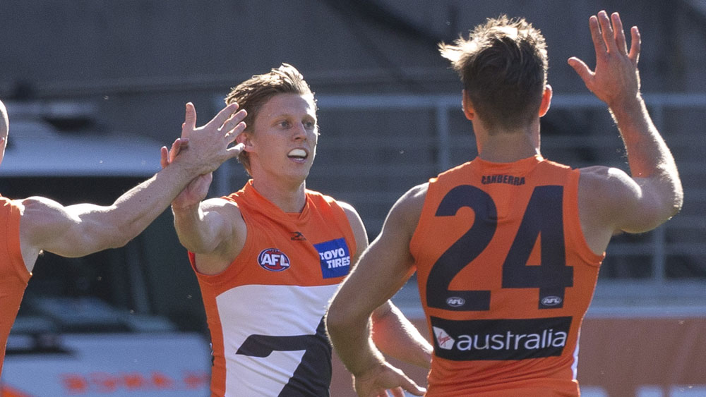GWS scrape home against Fremantle in AFL
