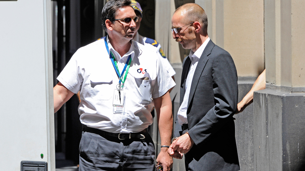There will be no parole for Knight, pictured here at a 2012 court appearance. (AAP)