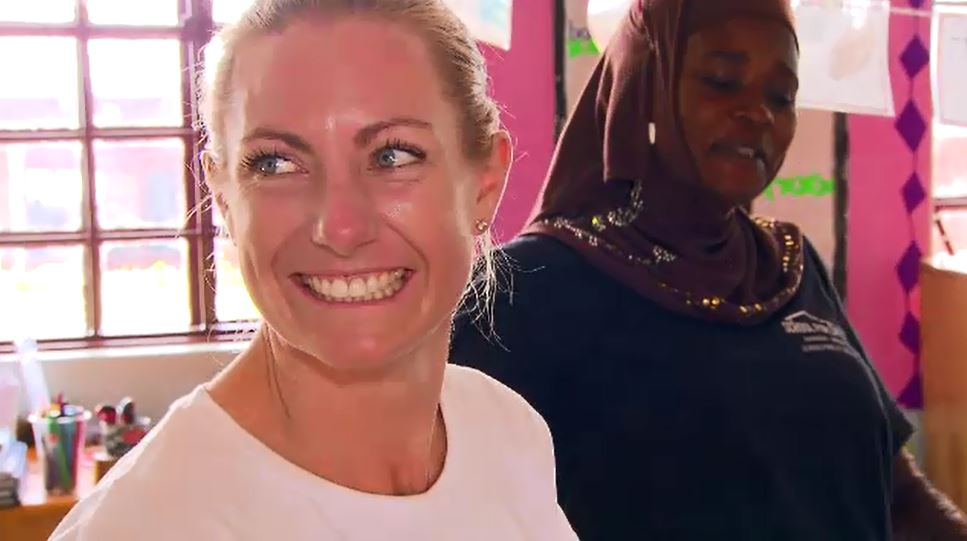 Annabelle Chauncy founded School For Life after first travelling to Uganda at the age of 21. (9NEWS)