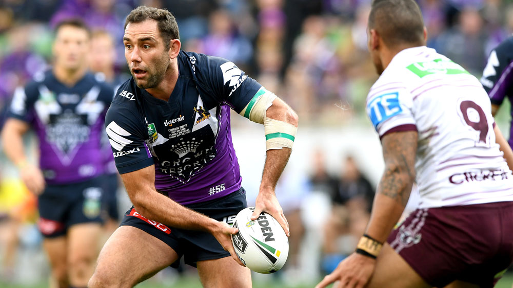Melbourne Storm's Cameron Smith not ruling out playing 400 NRL games