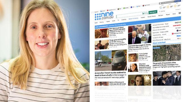 Nine.com.au reporter Emily McPherson shortlisted for Kennedy Award.