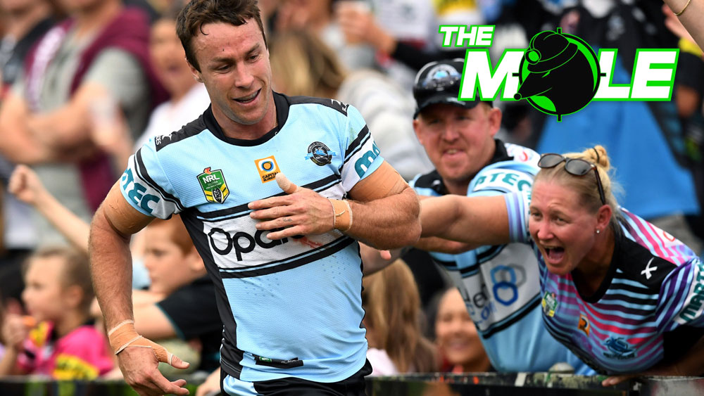 James Maloney spoke on behalf of the players. (AAP)