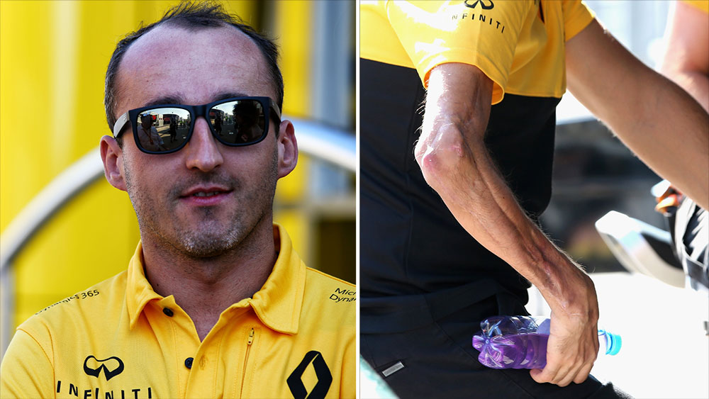 Robert Kubica is ready for his Formula One return. (Getty)