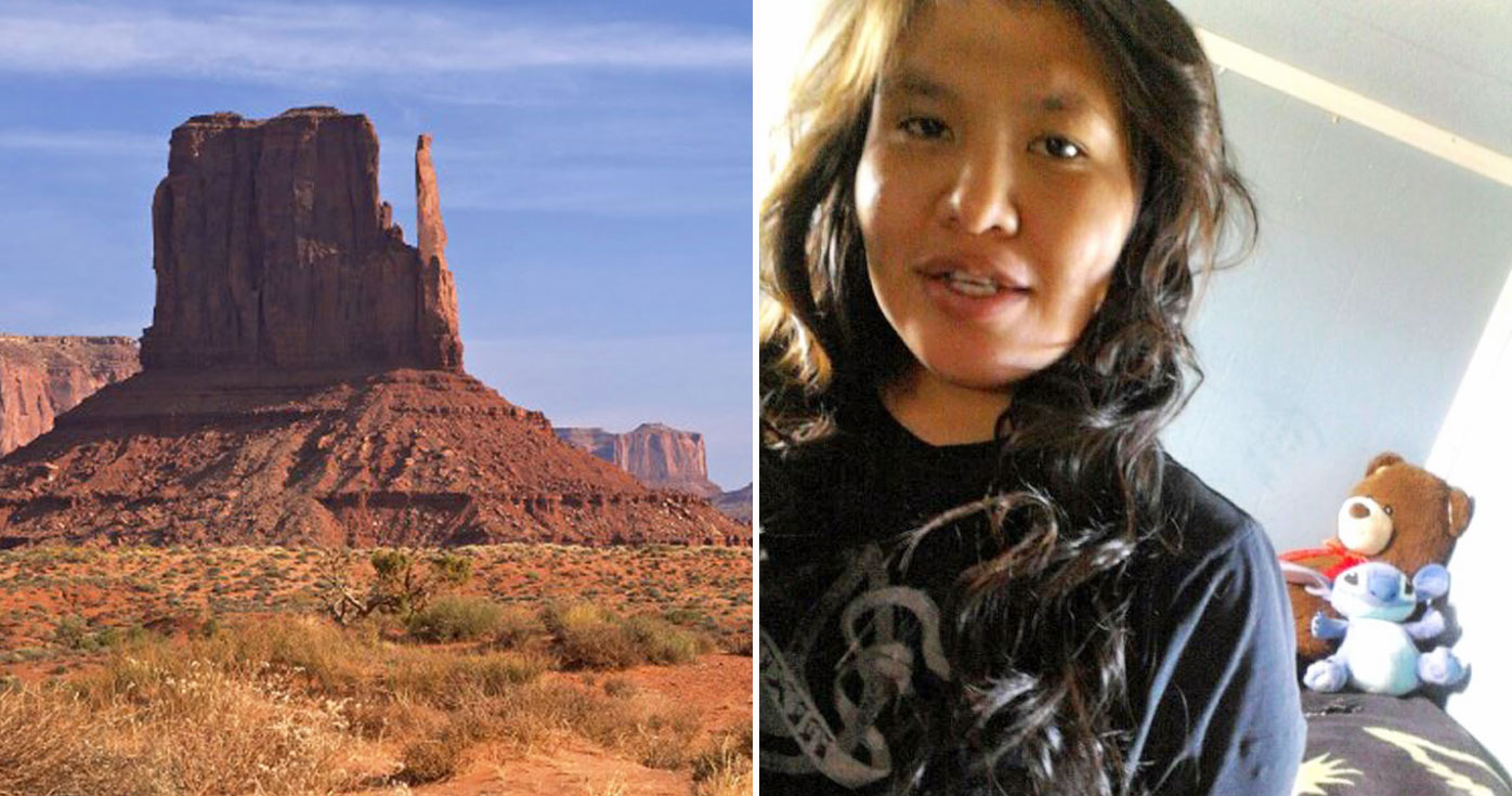 Ashley Attson left her daughter in the desert for four days and nights before retrieving the body and burying it in an animal hole. (AFP/Facebook)
