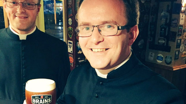Priests barred from pub after being mistaken for stag party