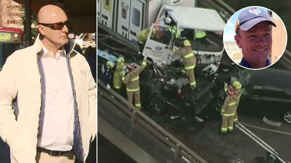 Truck driver found guilty of killing off-duty fireman in crash
