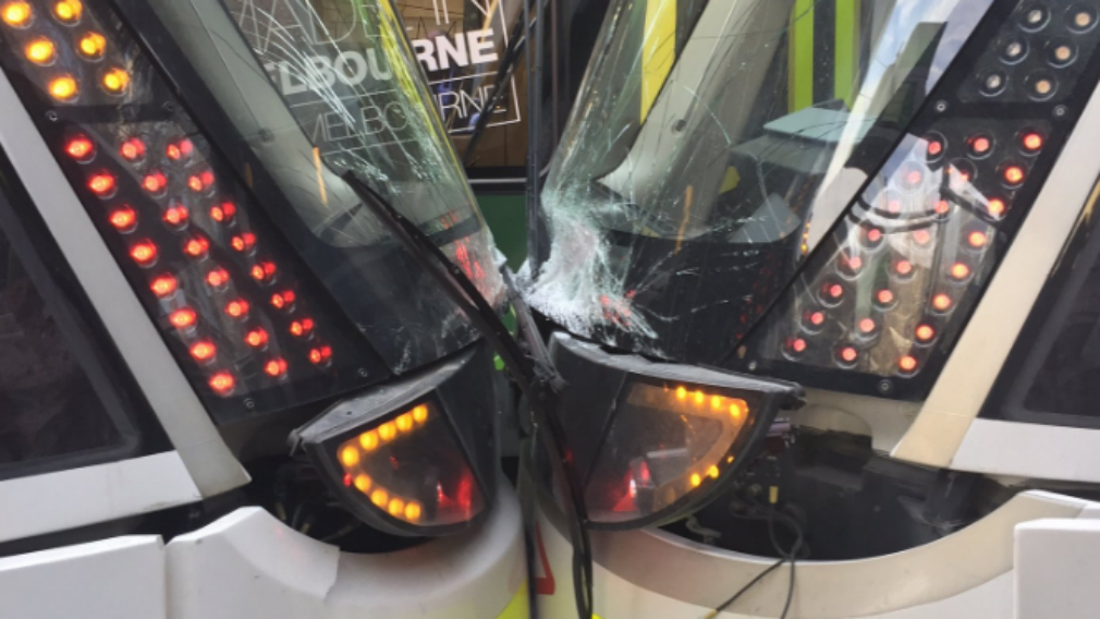 People Taken To Hospital After Two Trams Collide In The Melbourne CBD