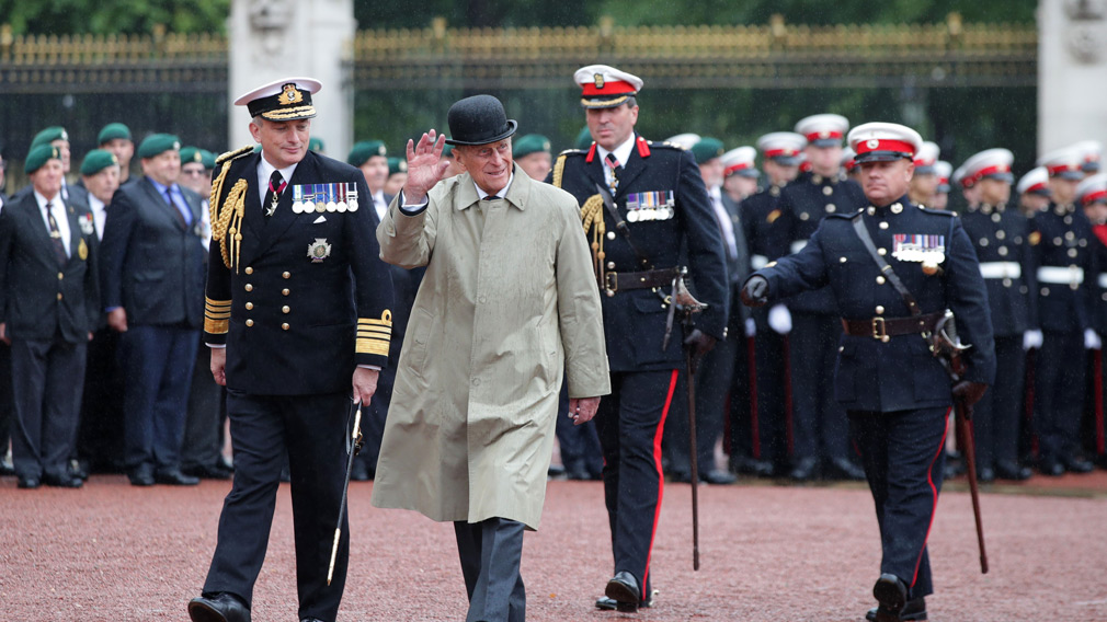 <strong>Prince Philip, 96, attends final official engagement</strong>