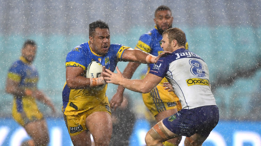 Moses inspires Eels in NRL win over Dogs