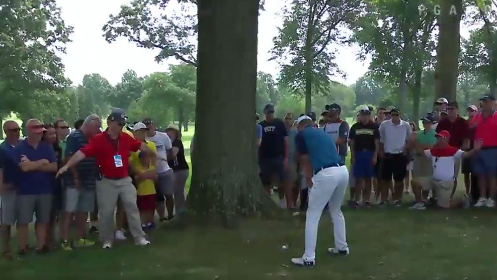 Walker takes lead at WGC as McIlroy finds a birdie