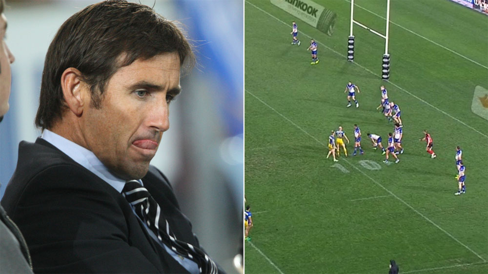 Andrew Johns predicts play before it happens during Eels NRL win over Bulldogs