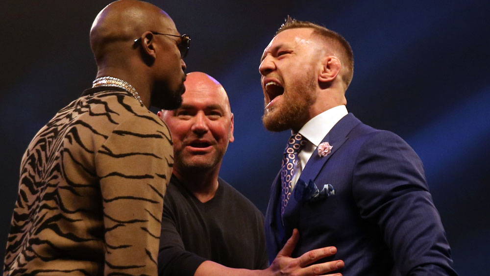 There is more drama in the lead up to the Floyd Mayweather v Conor McGregor bout. (AAP)