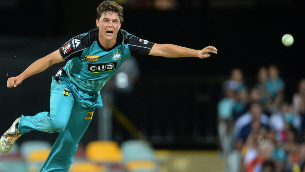 Uncapped spin bowler Mitchell Swepson has been added to the Test team to go to Bangladesh. (AAP)