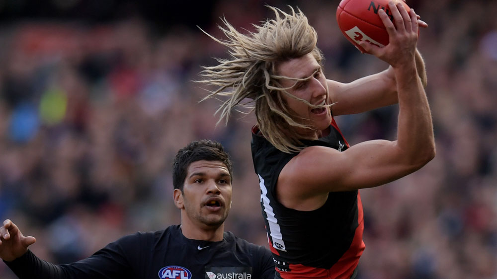 Ill-discipline nearly costs Bombers in AFL
