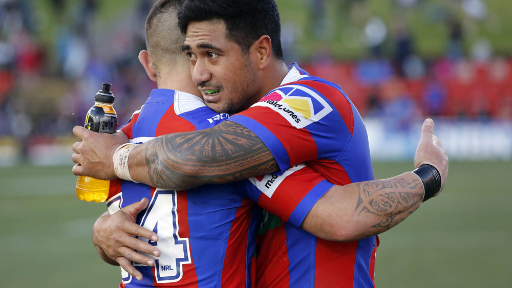 Andrew Johns expects the Newcastle Knights to challenge for a finals spot in 2018. (AAP)